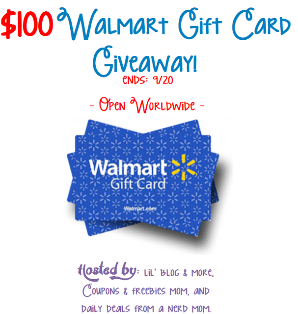 walmart gift card giveaway - frugal bloggers group giveaway