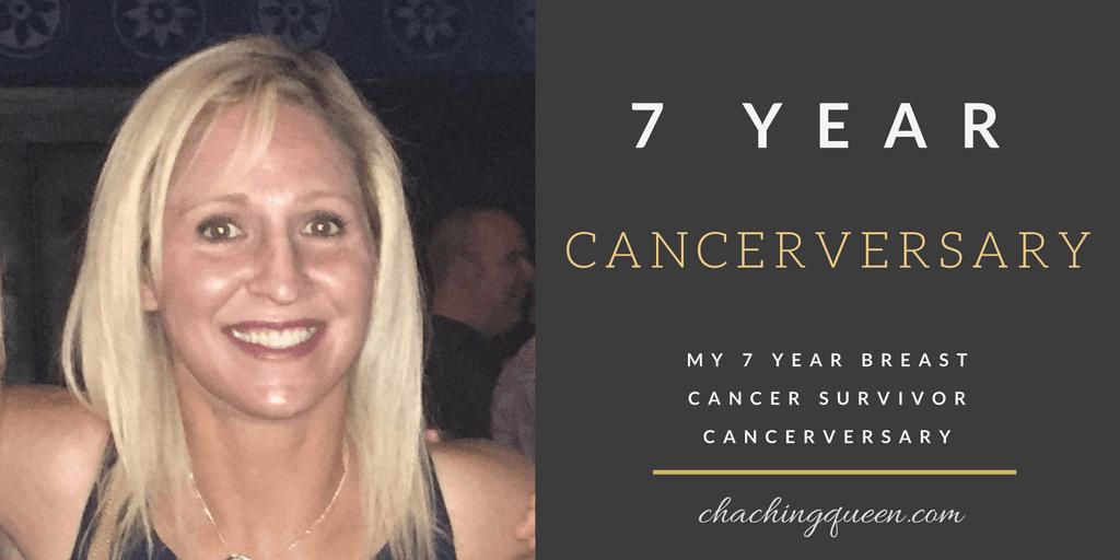 Austin Breast Cancer Survivor Cancerversary 7 Years Blog Post