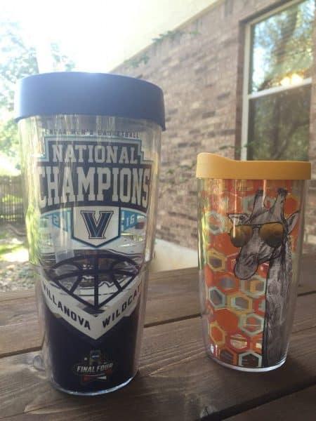 tervis review tumblers - villanova champions final four basketball giraffe