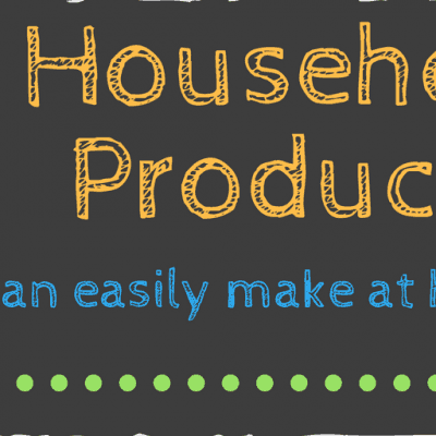 18 DIY Household Products You Can Make at Home