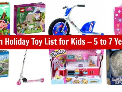 Kids Gift Guide: Amazon Gift Ideas – List of the Best Toys for Kids Ages 5 -7