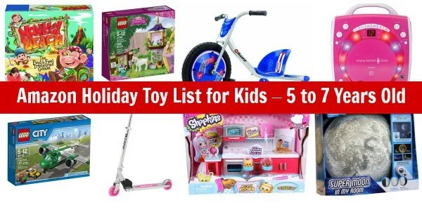 Amazon Gift Ideas - List of Toys for Kids Ages 5 -7