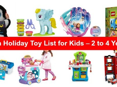 Amazon Gift Ideas and Toddler Gift Guide – List of Toys for Toddlers 2 to 4 Years Old