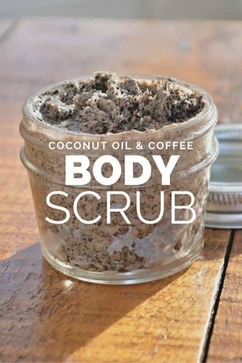 Bulletproof Coffee Scrub with the Coconut Oil Coffee Body Scrub Tutorial