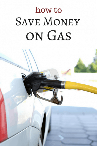 how to save money on gas