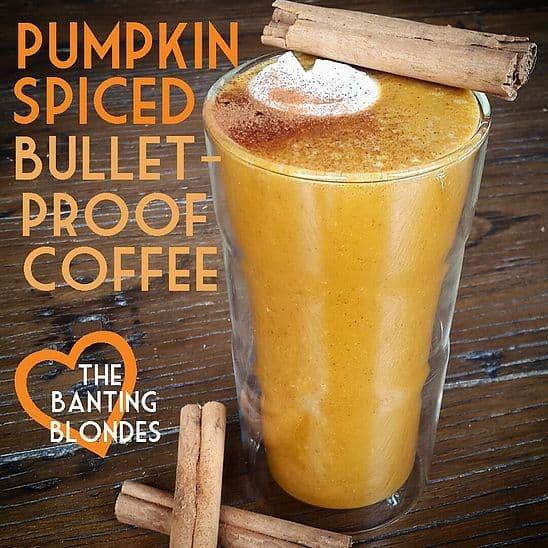 pumpkin spice bulletproof coffee recipe - PSL lovers