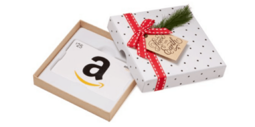 Amazon Gift Card Giveaway 25 Dollars Stocking Stuffer Giveaway Hop
