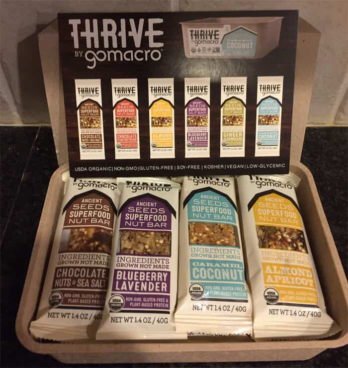 GoMacro-Thrive-Bars-Review-and-Giveaway