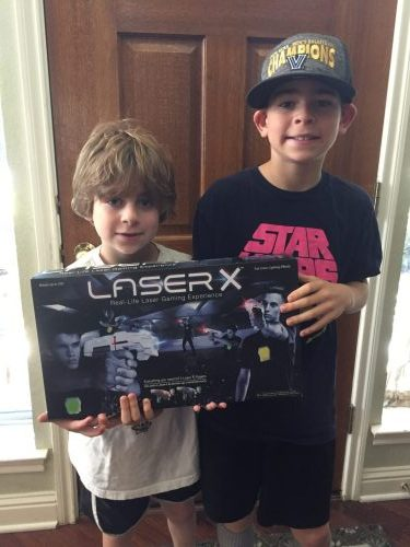 Laser X - Laser Tag System at Home Review box