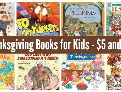 2019 List of Thanksgiving Books for Kids Under $5