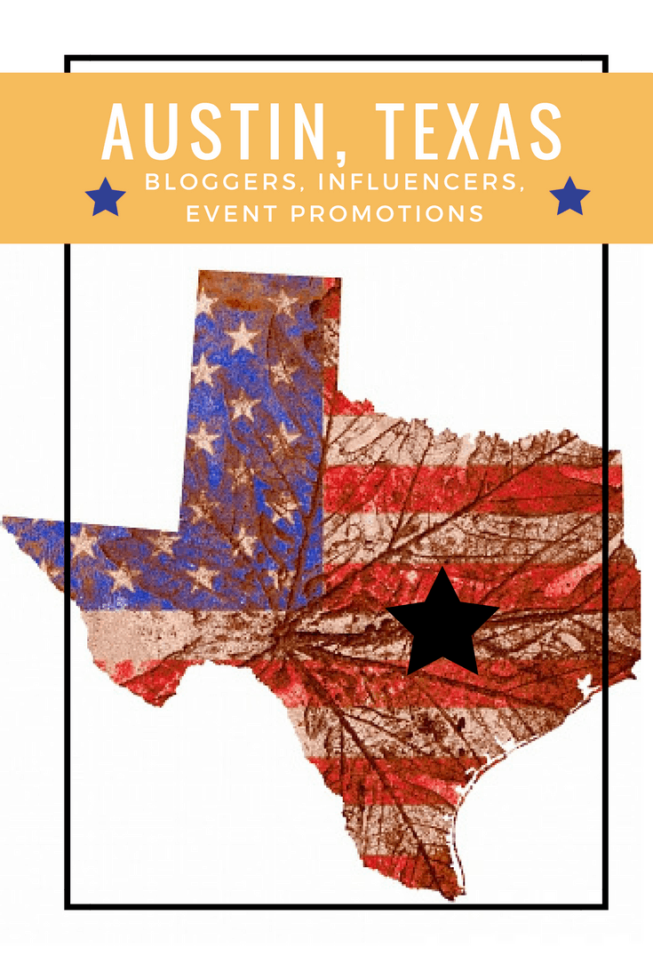 Austin, Texas Bloggers and Influencers for Events and Product Reviews