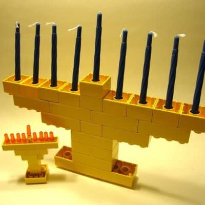 DIY Hanukkah Menorahs – Make Your Own Menorahs:  Kids and Adults Craft