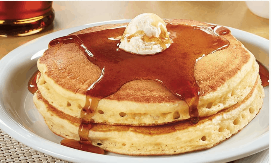 Denny's All You Can Eat Pancakes