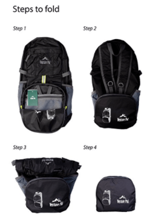 Lightweight Packable backpacks recommendation for sxsw