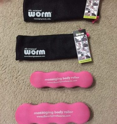 The Original Worm – Review, Coupon, & Giveaway of the Portable, Multi-tasking Body Roller