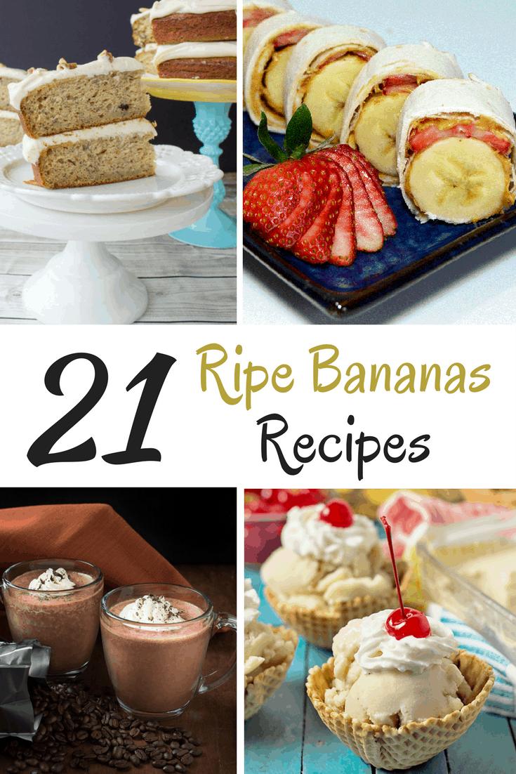 Ripe Bananas Recipe Ideas