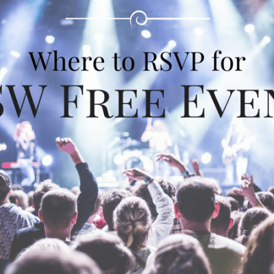 SXSW Free Events – South By Southwest Free with RSVP