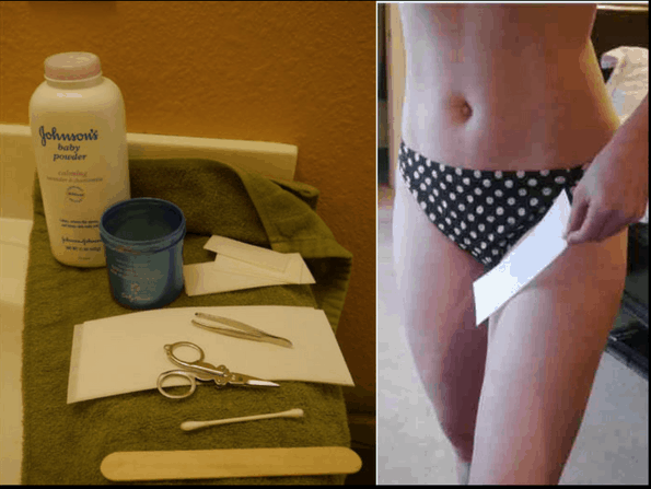 Wax Hair Removal at Home - How to do a Face, Bikini, or Brazilian Wax