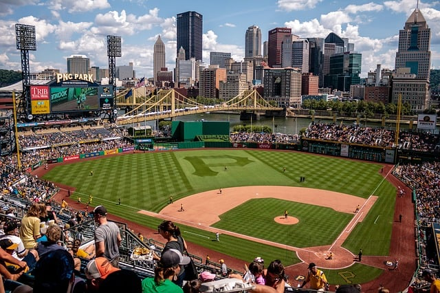 pnc park baseball game staycation idea kids spring break
