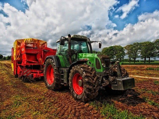 tractor grain mixer