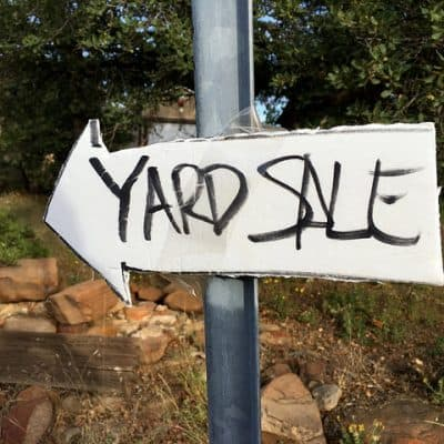 Bring in the Money with These Yard Sale Tips