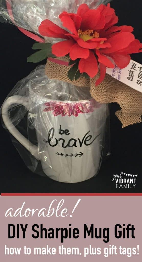 DIY Sharpie Mug Mother's Day Gifts