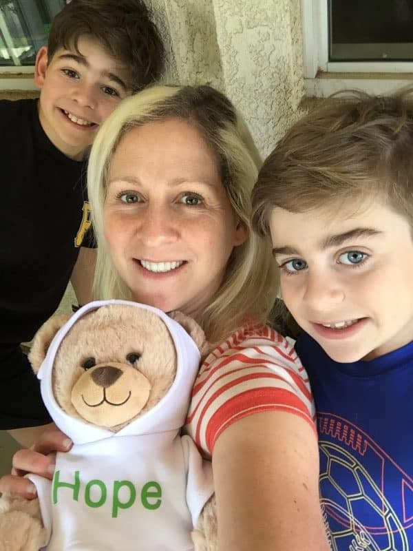 Extended Stay America and American Cancer Society - Room Donations and Hope Bears for Pediatric Cancer Patients