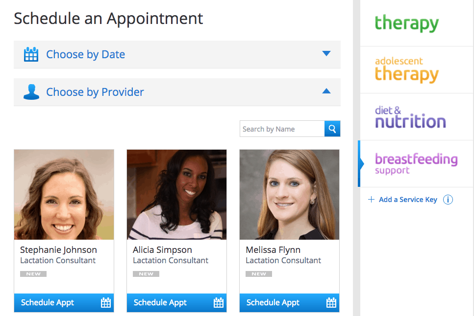 Amwell Online Lactation Services - lacation consultant bios