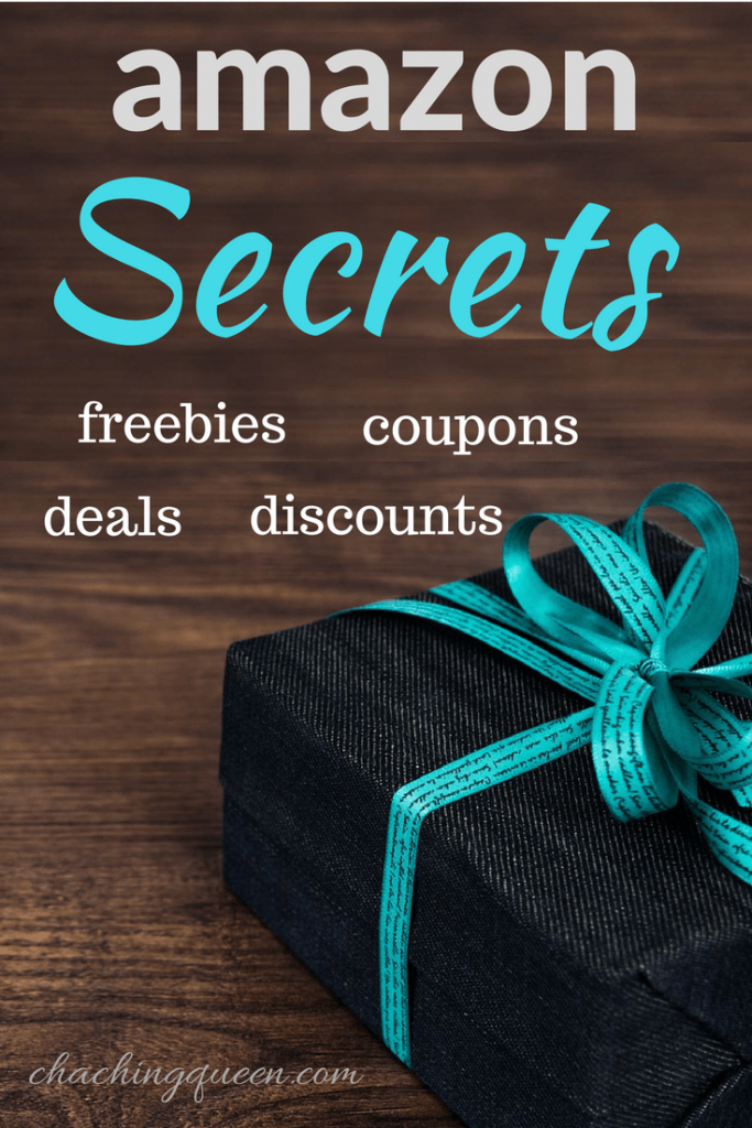Amazon Secrets: How to get Amazon codes, freebies, coupons, and deals - Pinterest Pin