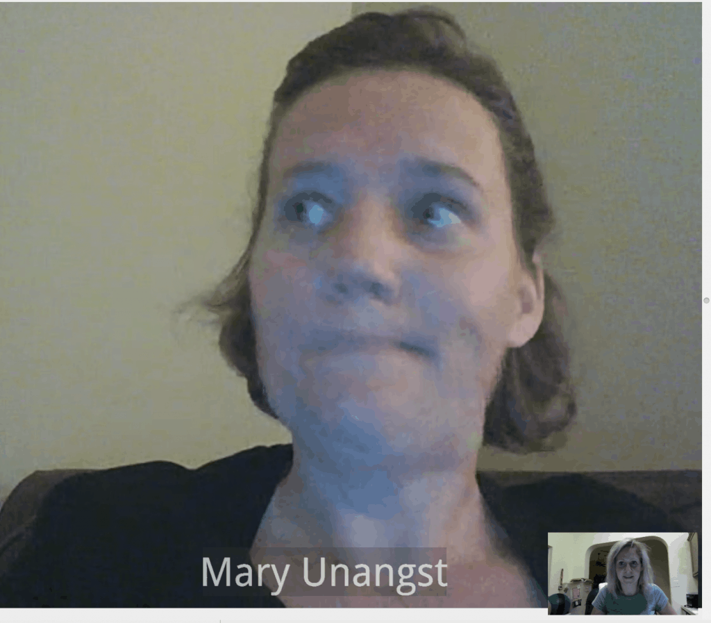 amwell mary unangst online lactation consultant video chat