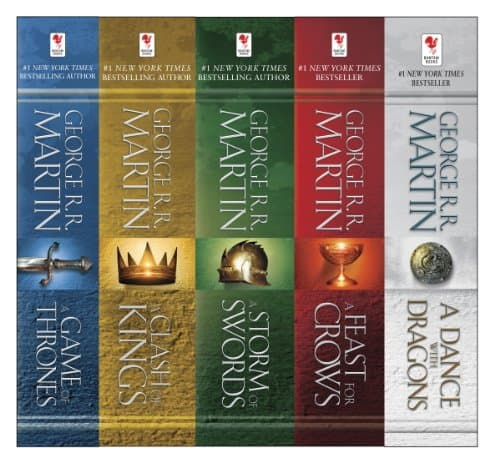 Game of Thrones 5-Book Set - Kindle Book Discount