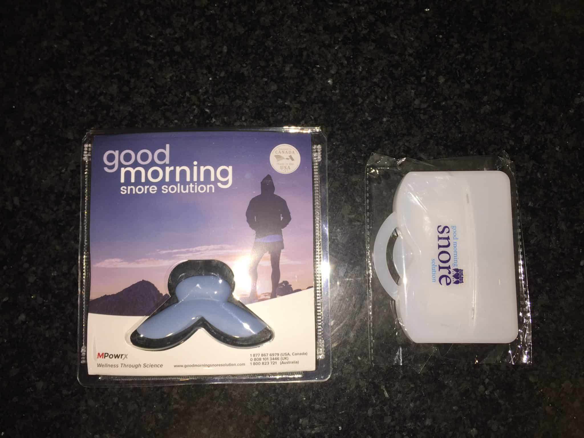 product review good morning snore solution product