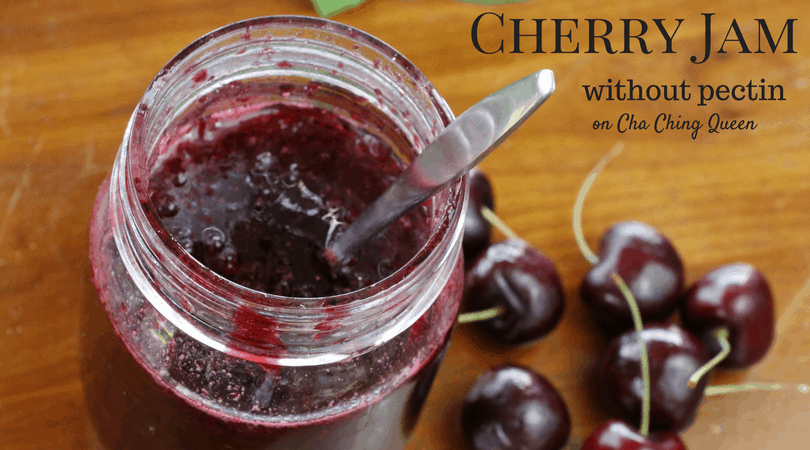 Cherry Jam without pectin