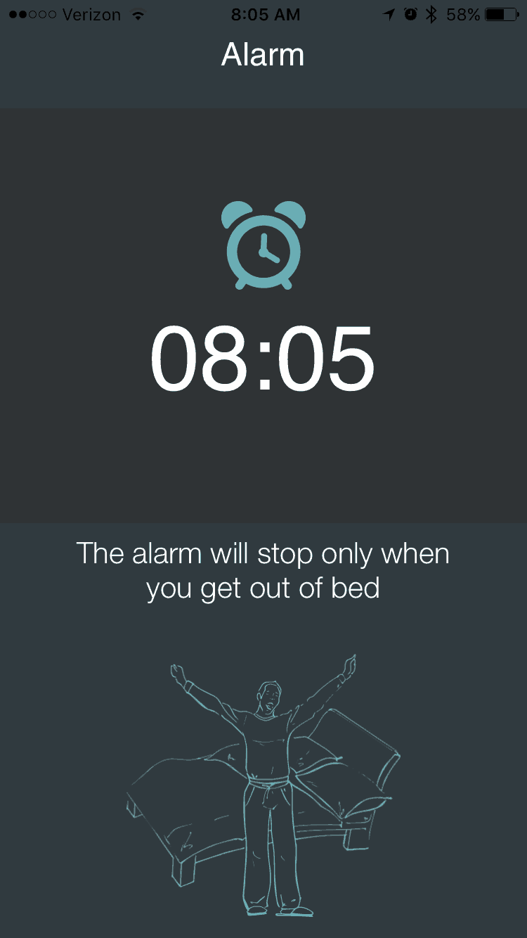earlysense live sleep tracker app alarm