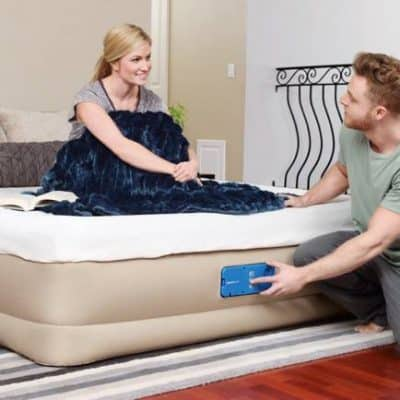 Bestway Fortech Inflatable Mattress that STAYS INFLATED – SaluSpa Miami Giveaway