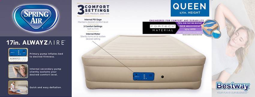 Bestway Fortech Inflatable Mattress that STAYS INFLATED product