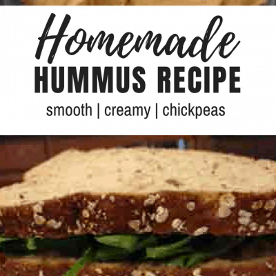 Quick Hummus (Chickpea Spread) Recipe
