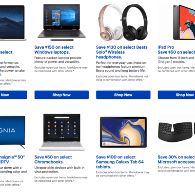 Best Buy College Student Deals, Coupons, Special Discounts 2019