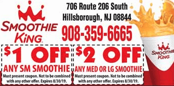 2019 smoothie king coupon hillsborough NJ