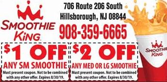 2019 smoothie king coupon hillsborough NJ
