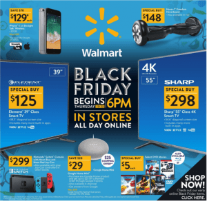 Walmart Black Friday Ad 2017 - Deals and Discounts sneak peek
