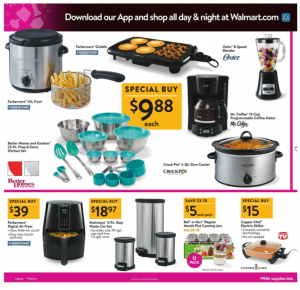 Walmart Black Friday Ad 2017 crockpot mason jars mr coffee