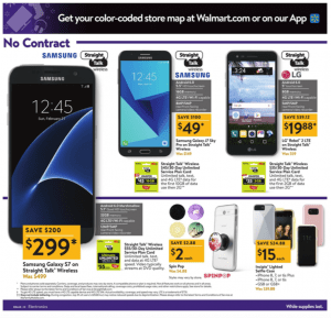 Walmart Black Friday Ad 2017 samsung galaxy deals