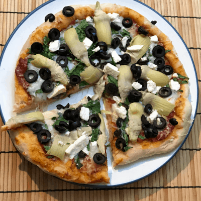 Pizza Dough Recipe – Homemade Pizza from Scratch for Family Friendly Make Your Own Pizza Night
