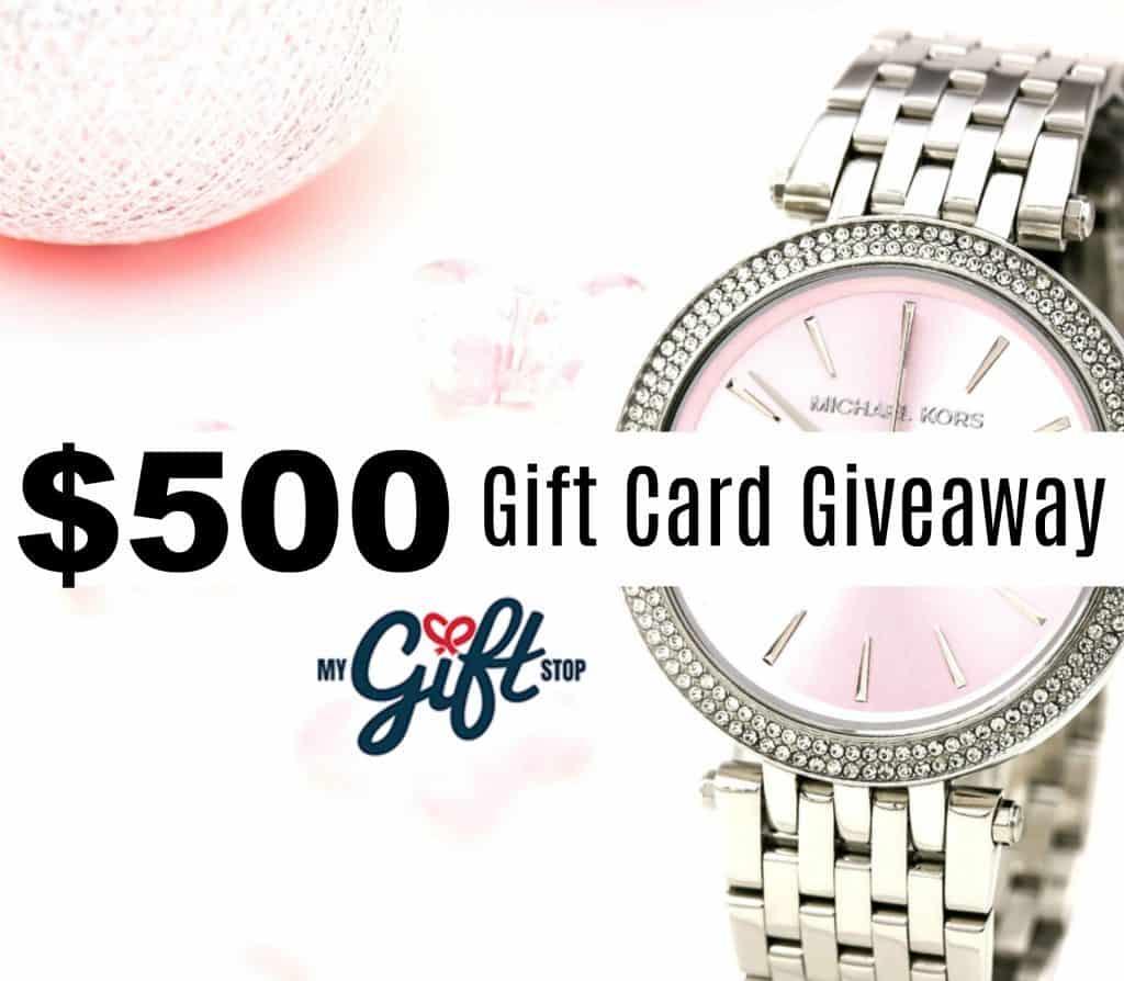 $500 Gift Card Giveaway MK