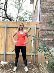 Fabletics Review Stella Leggings Lana Tank Top Austin Texas Blogger