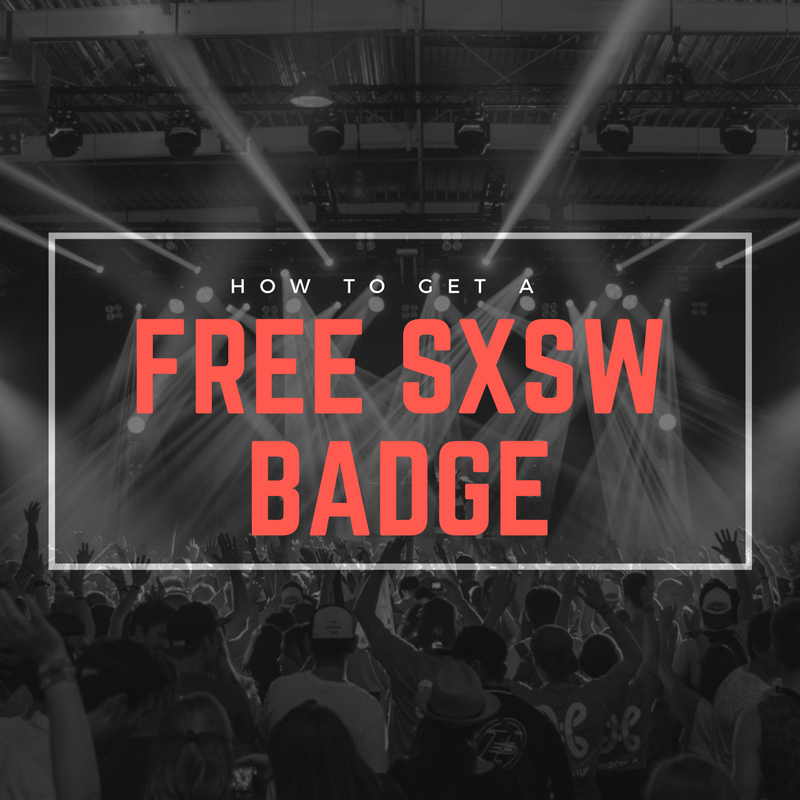 how to get a free sxsw badge for volunteering 2018