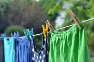 clothes line hand wash laundry