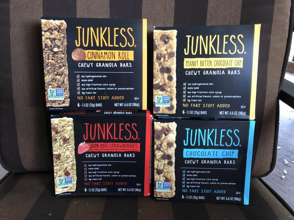 babbleboxx JUNKLESS Chewy Granola Bars