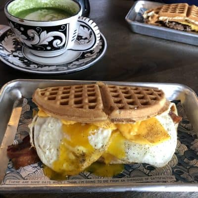 A Fun, New Restaurant in Austin: Wild Chix & Waffles